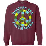 Quilters are Piecemakers Crewneck Sweatshirts - Crafter4Life - 3