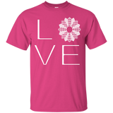 LOVE Quilting Custom Ultra Cotton T-Shirt - Crafter4Life - 4