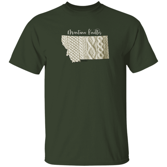 Montana Knitter Cotton T-Shirt