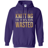 Time Spent Knitting Pullover Hoodies - Crafter4Life - 8