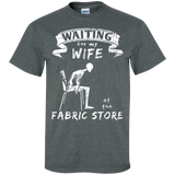 Waiting at the Fabric Store Men's and Unisex T-Shirts - Crafter4Life - 6