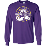 Time for Quilting Long Sleeve Ultra Cotton T-Shirt - Crafter4Life - 12