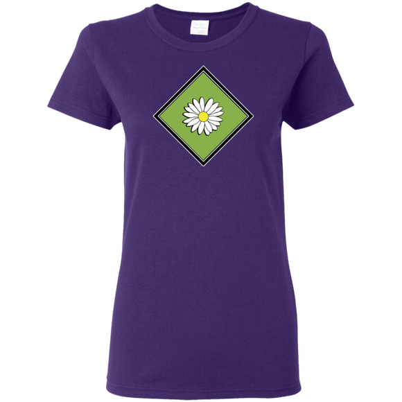 Daisy Field Ladies T-Shirt