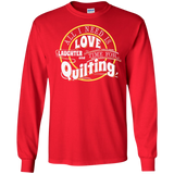 Time for Quilting Long Sleeve Ultra Cotton T-Shirt - Crafter4Life - 10