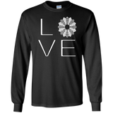 LOVE Quilting LS Ultra Cotton T-shirt - Crafter4Life - 3