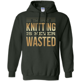 Time Spent Knitting Pullover Hoodies - Crafter4Life - 6
