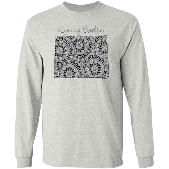 Wyoming Crocheter LS Ultra Cotton T-Shirt