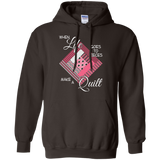 Make a Quilt (pink) Pullover Hoodies - Crafter4Life - 5