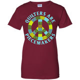 Quilters are Piecemakers Ladies Custom 100% Cotton T-Shirt - Crafter4Life - 4