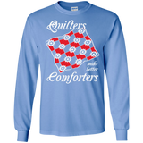 Quilters Make Better Comforters Long Sleeve Ultra Cotton T-Shirt - Crafter4Life - 4