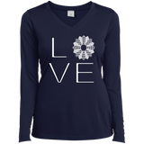 LOVE Quilting Ladies Long Sleeve V-neck Tee - Crafter4Life - 4