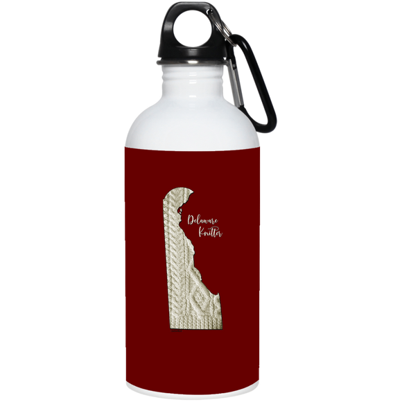 Delaware Knitter Stainless Steel Water Bottle