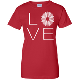 LOVE Quilting Ladies Custom 100% Cotton T-Shirt - Crafter4Life - 7