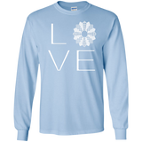 LOVE Quilting LS Ultra Cotton T-shirt - Crafter4Life - 7