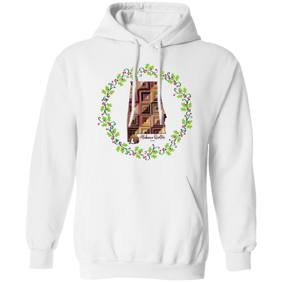 Alabama Quilter Christmas Pullover Hoodie