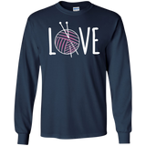 Knitting LOVE LS Ultra Cotton T-Shirt