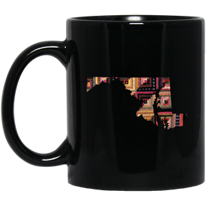 Maryland Quilter Black Mugs