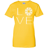 LOVE Quilting Ladies Custom 100% Cotton T-Shirt - Crafter4Life - 1