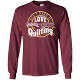 Time for Quilting Long Sleeve Ultra Cotton T-Shirt - Crafter4Life - 9