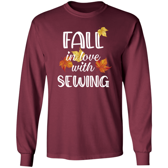 Fall in Love with Sewing LS Ultra Cotton T-Shirt