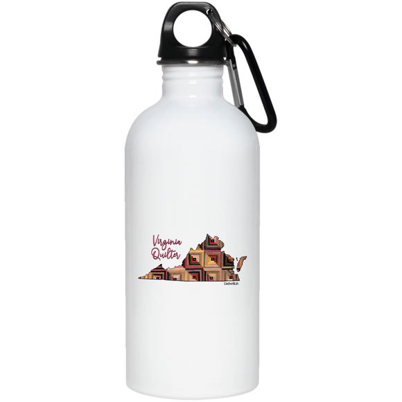 Virginia Quilter Stainless Steel Water Bottle