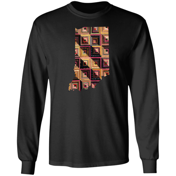 Indiana Quilter LS Ultra Cotton T-Shirt