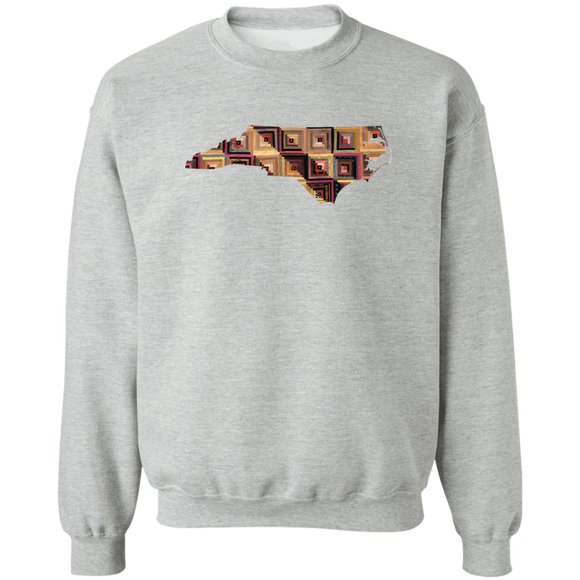 North Carolina Quilter Crewneck Pullover Sweatshirt