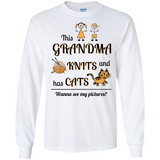 This Grandma Knits LS Ultra Cotton T-shirt