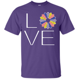 LOVE Quilting (Primary Colors) Custom Ultra Cotton T-Shirt - Crafter4Life - 11