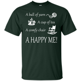 A Happy Me Custom Ultra Cotton T-Shirt - Crafter4Life - 5