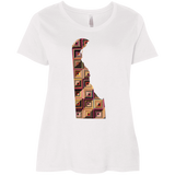 Delaware Quilter Ladies Curvy Full-Figure T-Shirts