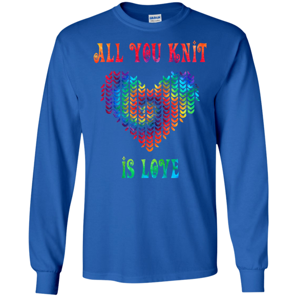 All You Knit Heart LS Ultra Cotton T-Shirt