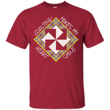 Quilting Makes My Heart Smile Custom Ultra Cotton T-Shirt