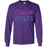 I Dream Quilts Long Sleeve Ultra Cotton T-Shirt - Crafter4Life - 7