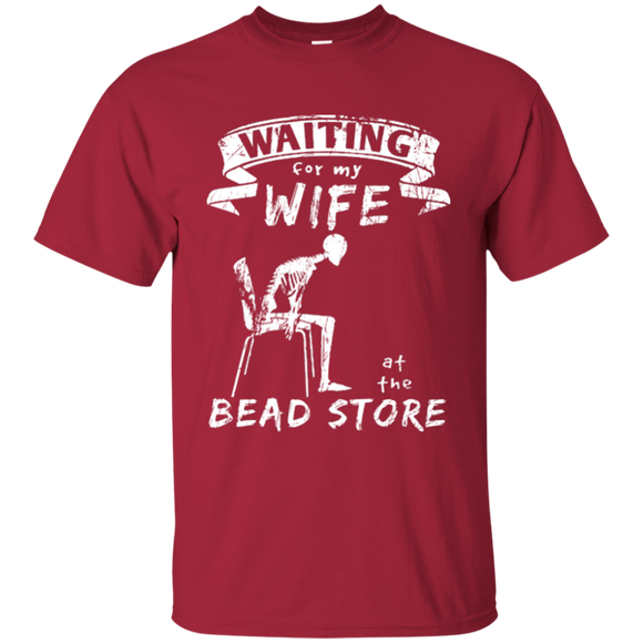 Waiting for my Wife at the Bead Store Ultra Cotton T-Shirt