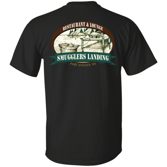 Smugglers Landing Custom Ultra Cotton T-Shirt back print only