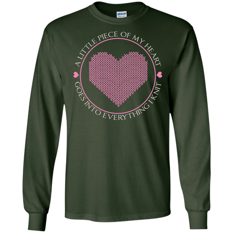 Piece of My Heart (Knit) LS Ultra Cotton T-Shirt