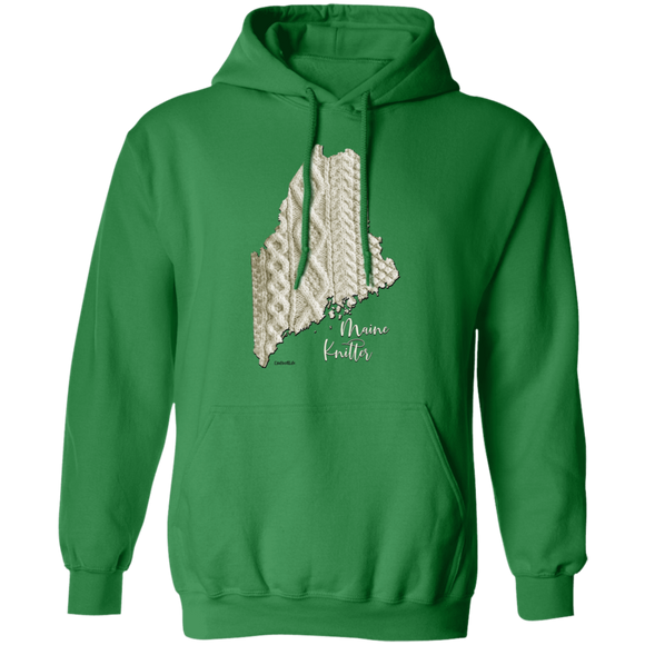 Maine Knitter Pullover Hoodie