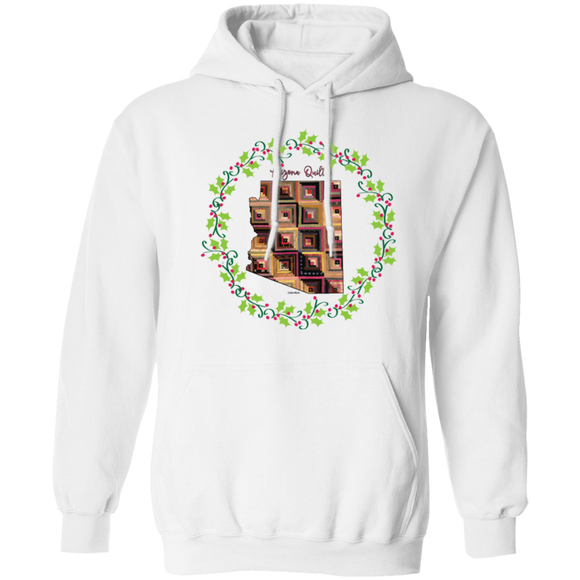 Arizona Quilter Christmas Pullover Hoodie