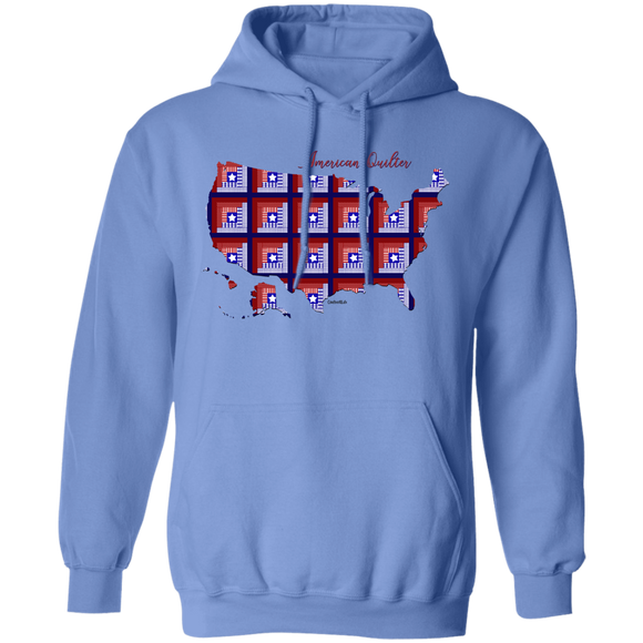 American Quilter Pullover Hoodie