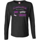 Good Day to Knit or Crochet Long Sleeve T-Shirts - Crafter4Life - 7