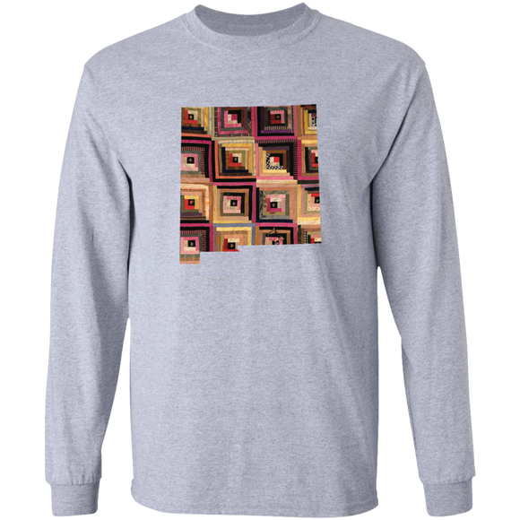 New Mexico Quilter LS Ultra Cotton T-Shirt