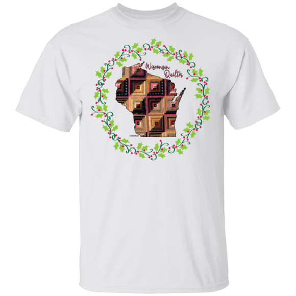 Wisconsin Quilter Christmas T-Shirt