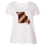 Missouri Quilter Ladies Curvy Full-Figure T-Shirts
