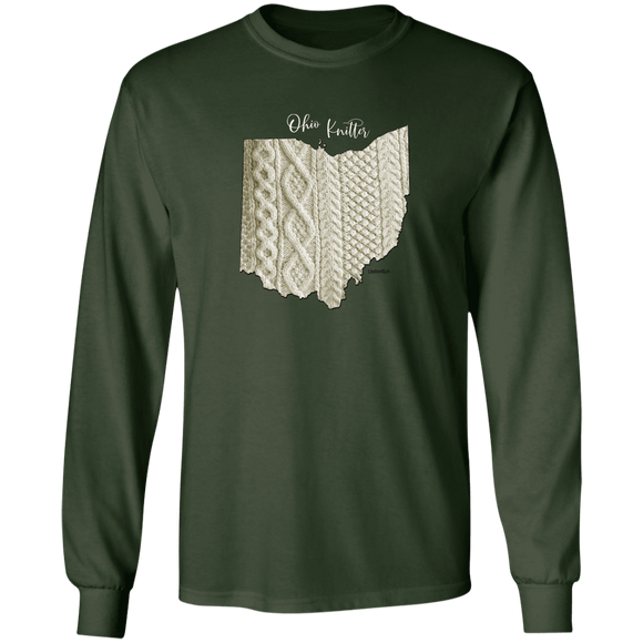 Ohio Knitter LS Ultra Cotton T-Shirt