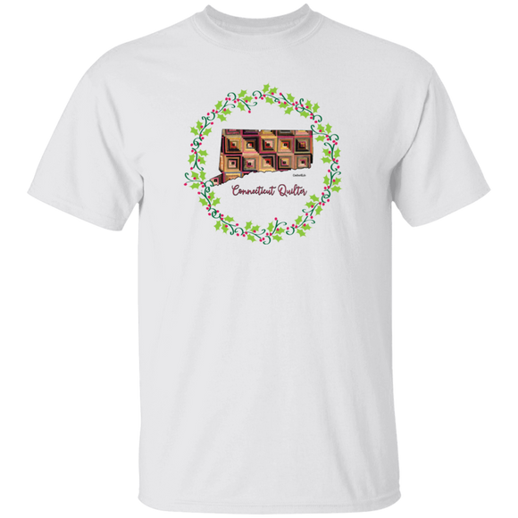 Connecticut Quilter Christmas T-Shirt