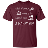A Happy Me Custom Ultra Cotton T-Shirt - Crafter4Life - 9
