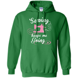 Sewing Keeps Me Going Pullover Hoodies - Crafter4Life - 6