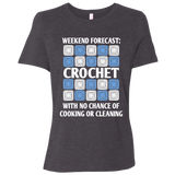 Weekend Forecast: Crochet Ladies Relaxed Jersey Short-Sleeve T-Shirt
