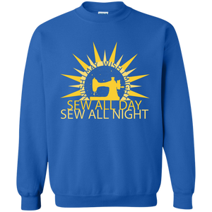 Wish I May Sew Crewneck Sweatshirts